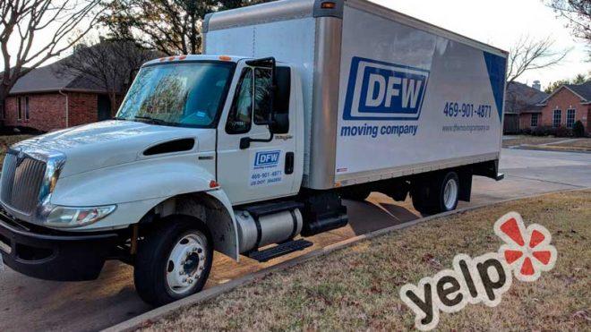 DFW Moving Company Yelp