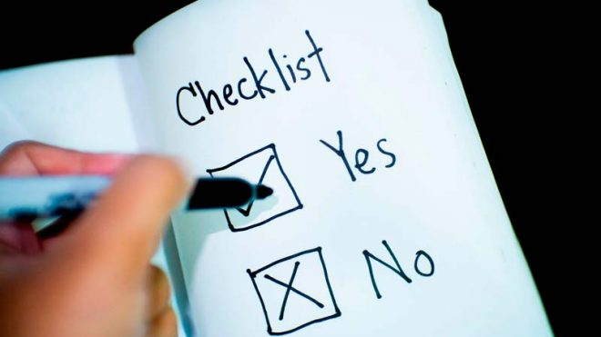 Detailed Checklist For Moving